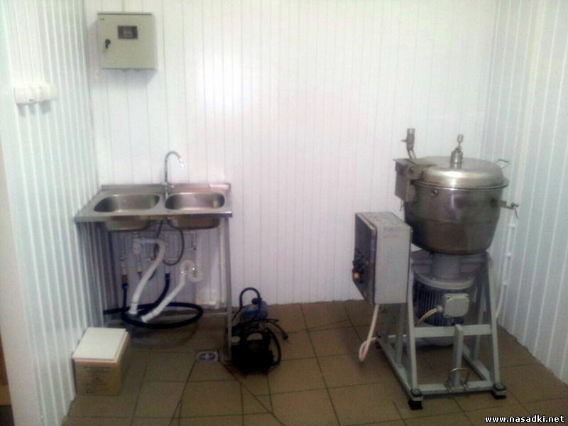 Цех приготовления кормов для выращивания опарыша