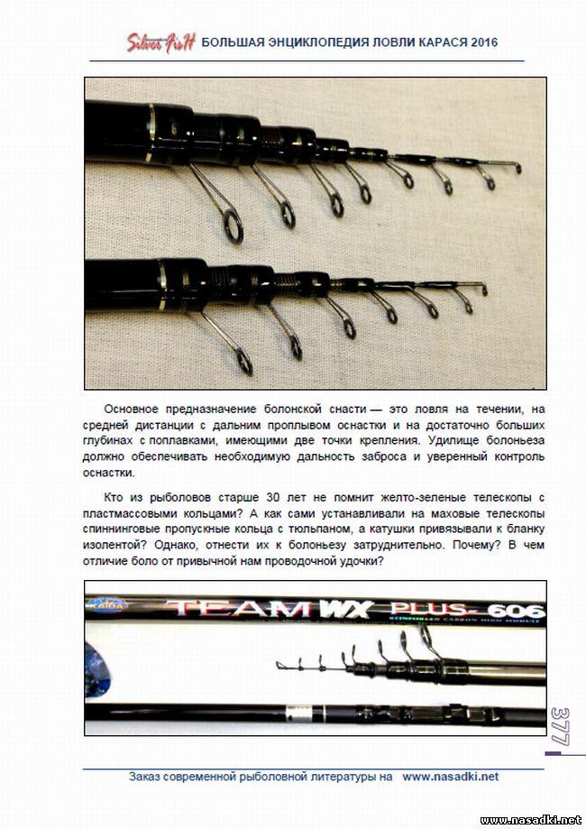 Болонская удочка для ловли карася - Большая энциклопедия ловли карася 2016