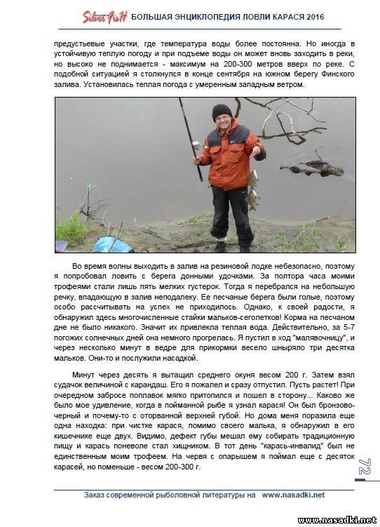 Места обитания и особенности клева карася осенью - Большая энциклопедия ловли карася 2016