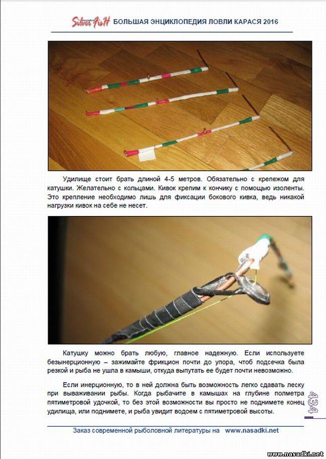 Требования к летнему кивку для ловли карася - Большая энциклопедия ловли карася 2016