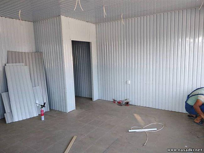 Строительство инсектария для мухи черная львинка в Киргизии - www.nasadki.net 2019