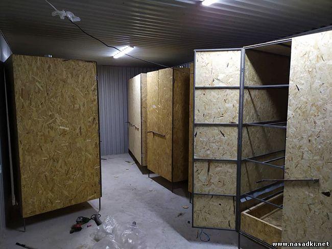 Строительство цеха по производству черной львинки в Киргизии - www.nasadki.net