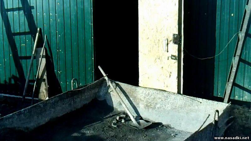 Строительство цеха по производству опарыша - заливка полов