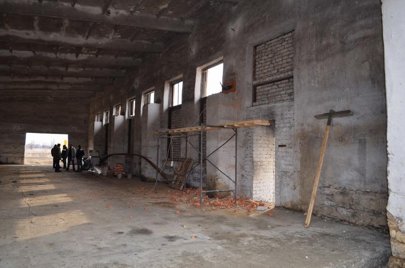 Строительство завода по производству опарыша 3