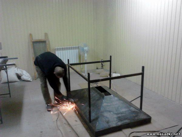 Изготовление выгоночных бункеров для выгонки опарыша