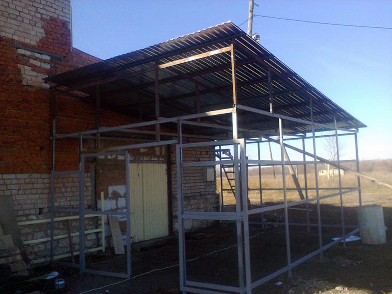 Строительство топливного склада на производстве опарыша