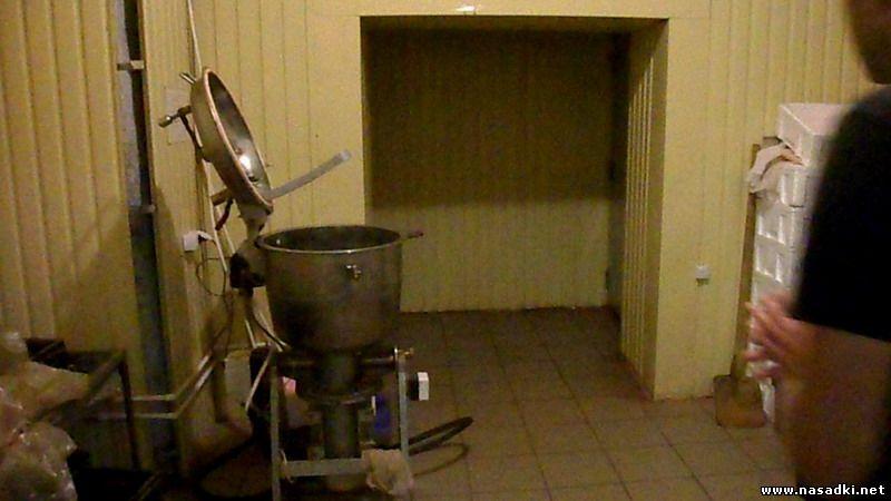 Цех приготовления кормов для опарышей