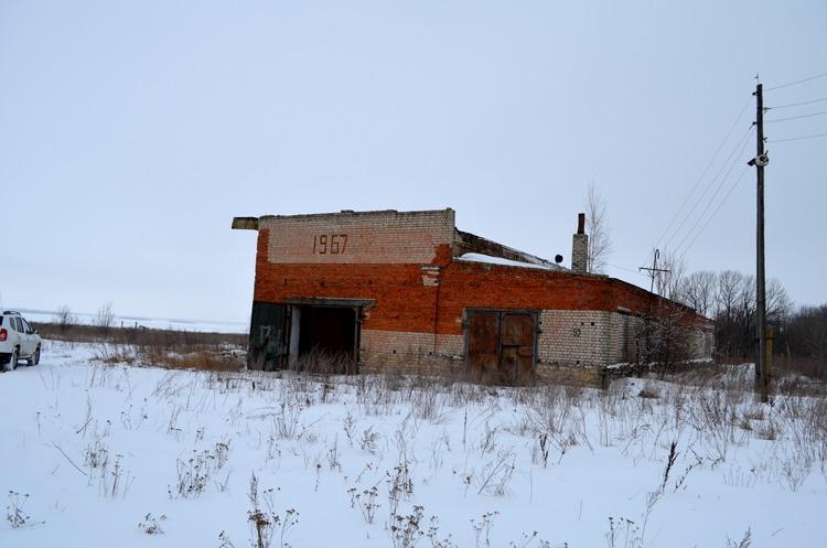 Объект для строительства завода по производству опарыша
