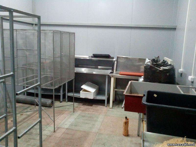 Цех по подготовке кормов для выращивания опарыша в Саратове