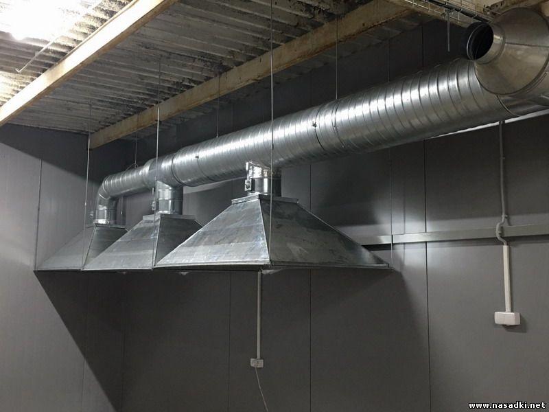 Разведение опарыша в Саратове. Монтаж вентиляции на заводе по выращиванию опарыша
