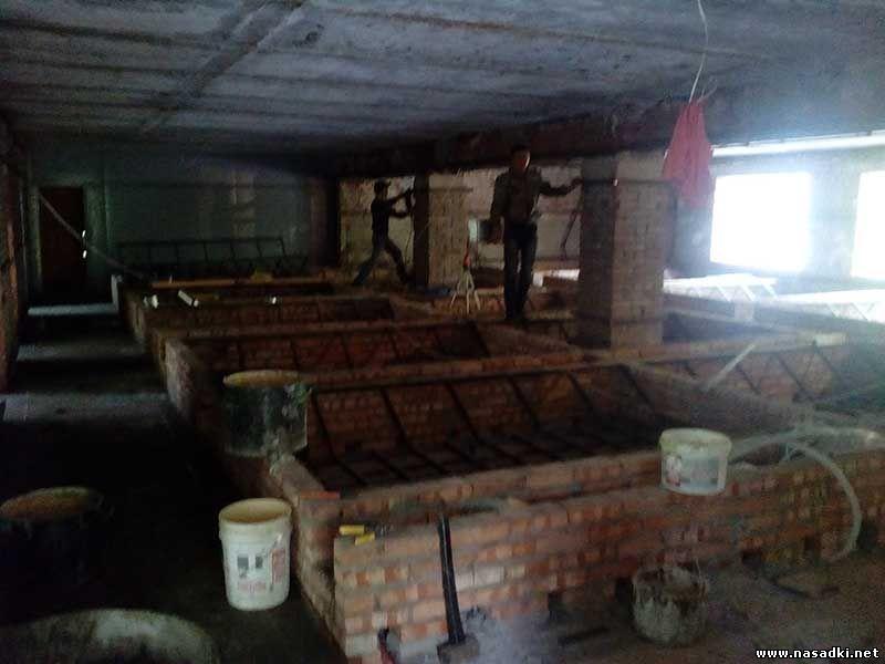 Цех по производству черной львинки - реконструкция