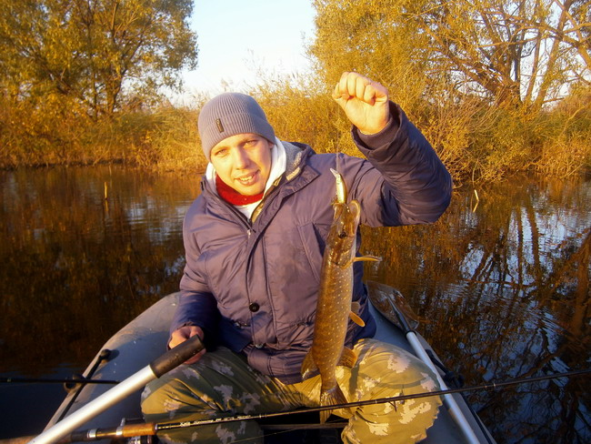 Ловля щукина реках