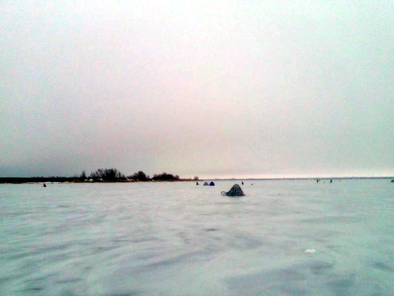 Ловля плотвы со льда