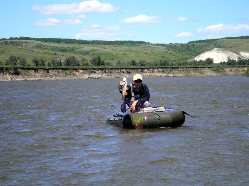 Ловля жереха на реке