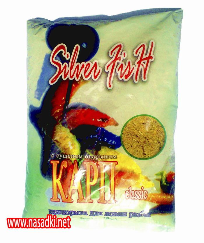 Прикормка Silver Fish (Сильвер Фиш) с сушеным опарышем